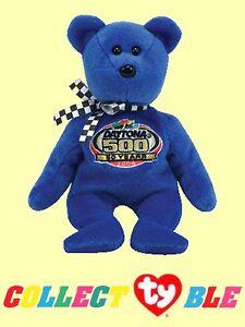 Ty 174 8 Quot Nascar Racing Gold 2008 Beanie Babies 174 Blue Daytona