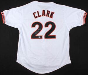 newest collection 3e68d 048d8 Details about Will Clark Signed San Francisco Giants Jersey (Beckett)  6×All-Star 1st Baseman