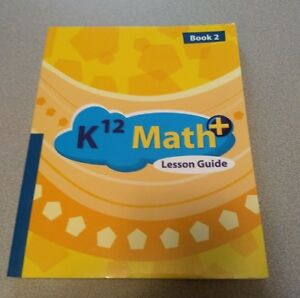Details about K12 Math+ Yellow Lesson Guide--Book 2 (5th Grade) #10254