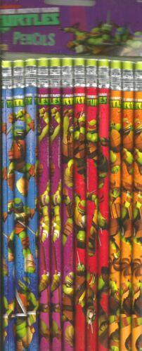 2 Packs Of Teenage Mutant Ninja Turtles Pencils Set 12ct Party