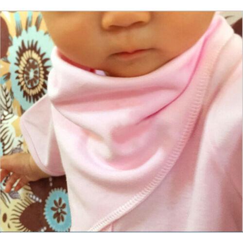 Zweilagiges Baumwoll-Baby-Kopftuch Lätzchen weiches Tuch Neugeborenen Bavoir  X