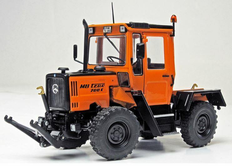 Mb-trac 700 K (w440) Kommunal 1987-1991 1 32 Model WEISE-TOYS