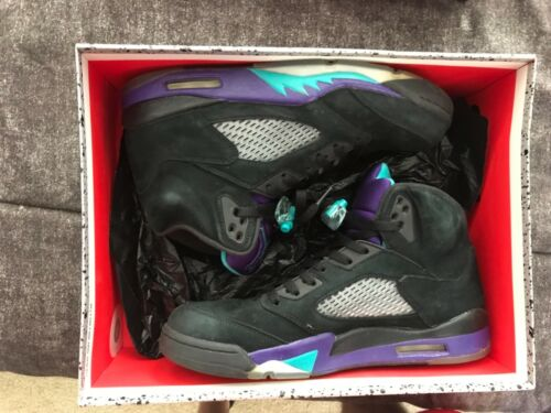 Grape Nike Pre Owned 5 Size Black Jordan 11 gZZxzBqtw