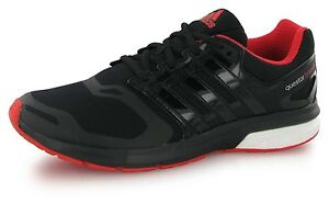 best website 944c4 f8869 Image is loading Adidas-questar-boost-tf-black-men-running-shoes-