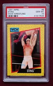 1991-IMPEL-9-STING-PSA-10-POP-2-WWE-WWF-WCW-NWA-AWA-TNA-JAPAN-WRESTLING-BGS