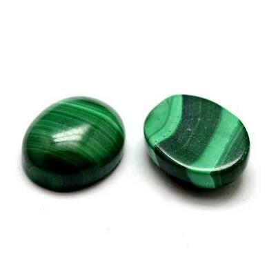 Aventurine Oval Cabochon 18 x 25mm Green  Wire Wrapping Jewellery Making Crafts