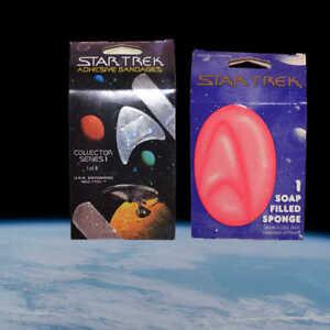 Star-Trek-Stocking-Stuffers-ST-sponge-amp-TOS-adhesive-bandages