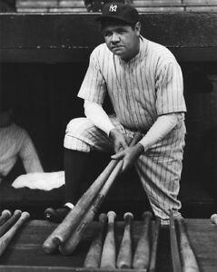 New-York-Yankees-BABE-RUTH-Glossy-8x10-Photo-Baseball-Print-039-The-Bambino-039-Poster