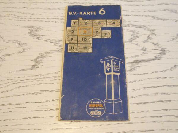 B.v.-karte 6 Mitteldeutschland 1:500000 Rabatte Verkauf