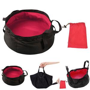 camping sch ssel becken outdoor waschbecken faltsch ssel sp lbeckentasche 12l ebay. Black Bedroom Furniture Sets. Home Design Ideas