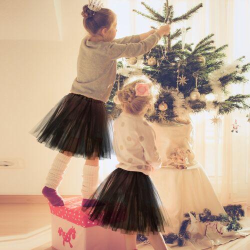 Girl Women Dance Tulle Skirt Long Dress Princess Girls Ballet Tutu Skirt Fanny