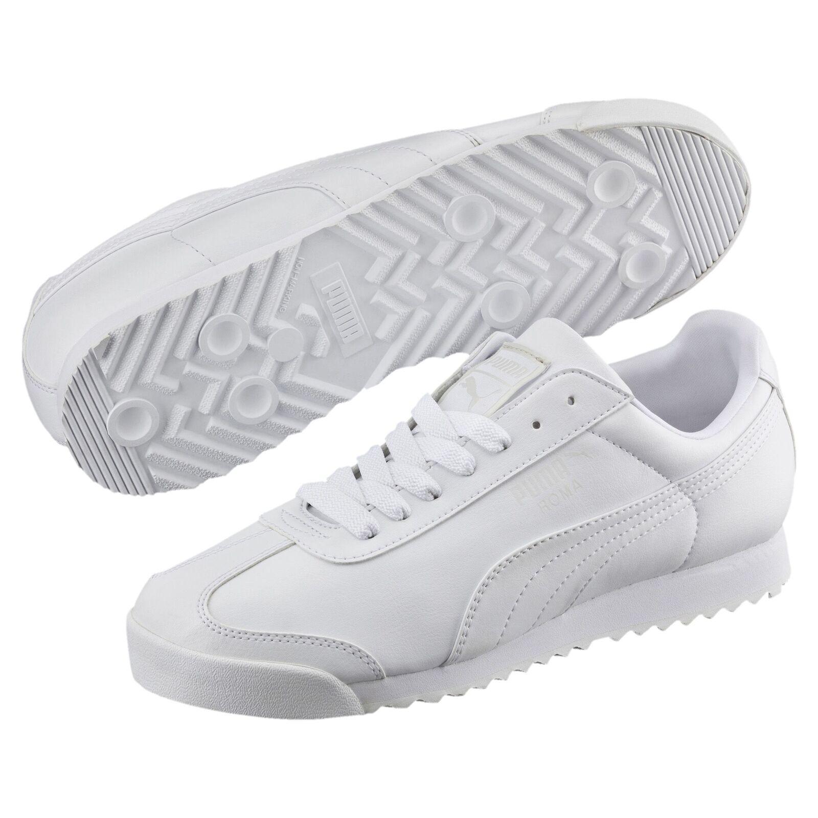 Puma Roma Basic Triple Negro  Corriendo Hombre Corriendo  Walking casuales zapatos  Zapatillas  353572-17 d71a43