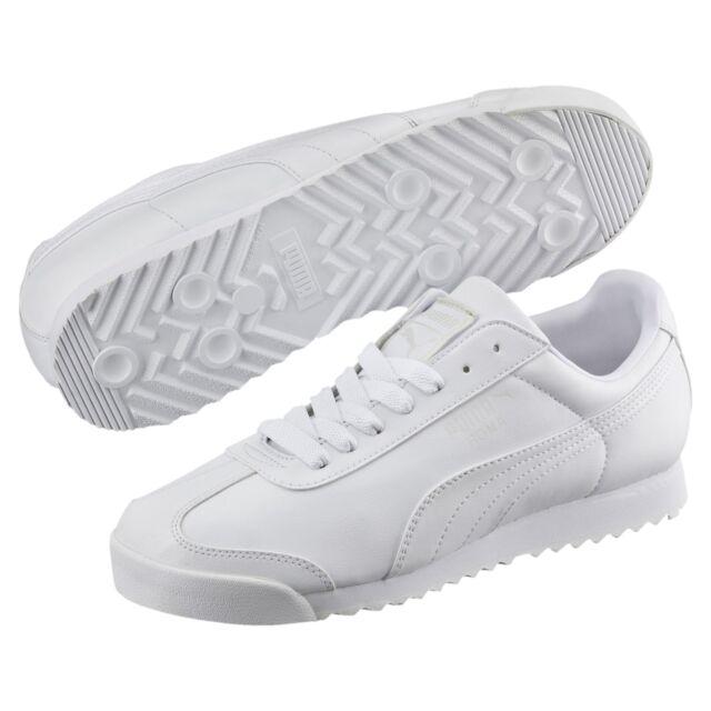 PUMA Roma Basic Trainers Hombre Zapatos Calzado deportivo Nuevo