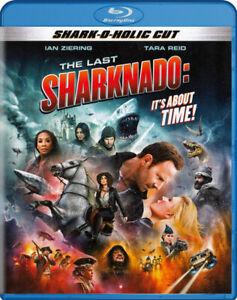 THE LAST SHARKNADO: IT S ABOUT TIME (SHARK-O-HOLIC CUT) (BLU-RAY) (BLU-RAY)