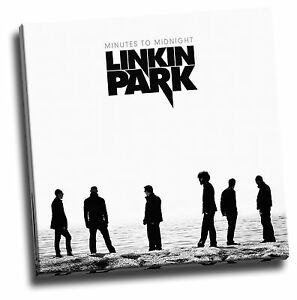 Details About Linkin Park Minutes To Midnight Giclee Canvas Album Cover Picture Art