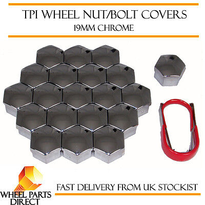 2019 Neuestes Design Tpi Chrome Wheel Bolt Nut Covers 19mm Nut For Lancia Kappa 94-02