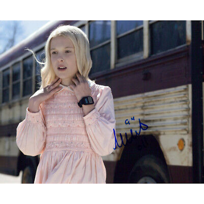 Millie Bobby Brown (Stranger Things) signed authentic 8x10 photo COA
