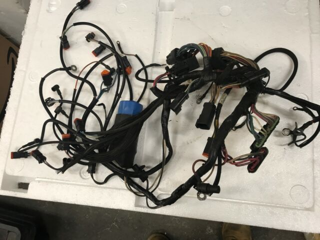 Johnson Evinrude FICHT Engine Wiring Harness 150-175 HP on johnson outboard repair manual, johnson outboard amplifier, johnson outboard motor starter,