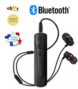 Ecouteurs Bluetooth Kit Mains Libres Samsung Iphone Sans Fil Fitness Running