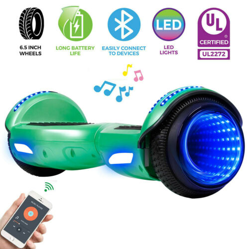 6.5/'/' Bluetooth Hoverboard Electric Self Balance Scooter With LED Light no Bag