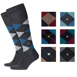 Socks-Man-Knee-Length-burlington-Art-27082-Edinburgh-75-Wool-Size-40-46