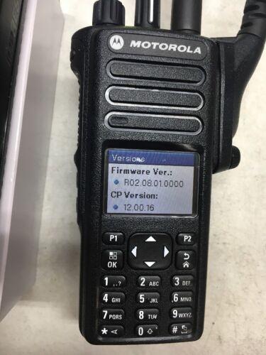 Motorola MotoTRBO XPR7550 UHF 403-512mhz digital radio AAH56RDN9KA1AN XPR