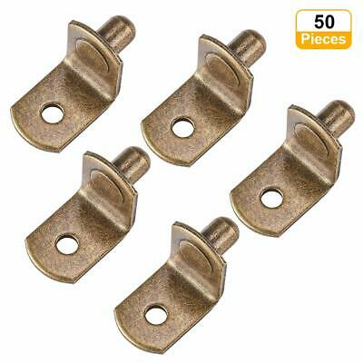 "Bag of  20 Polished Brass Shelf Supports 3//16/"""