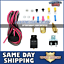"""2 Thermostat Relay Kit 12/"""" Electric Universal Cooling Slim Fan Tornado"""