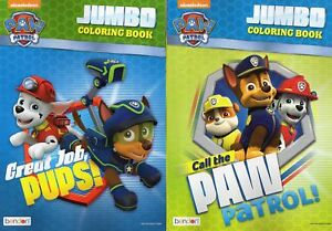 Paw-Patrol-Jumbo-Coloring-and-Activity-Book-Set-of-2-Design-may-vary
