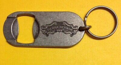 Sierra Nevada Brewing KEYCHAIN Official Logo BOTTLE OPENER Craft Beer Brewery