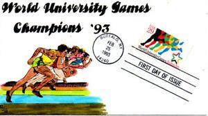 Us Premier Jour #2748 Monde University Jeux, Rjg , H / (p) , 4/25 (2503) Divers ModèLes RéCents