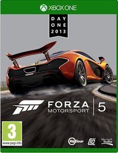 Forza-Motorsport-5-giorno-1-Edizione-Nuovo-di-zecca-Xbox-One-veloce-di-prima-classe-POST-LIBERO