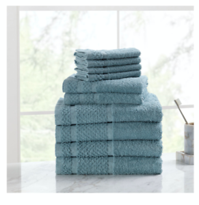 Towel Bale 10 Piece Towels 100/% Cotton Towel Shower Towel Set Bathroom Rug