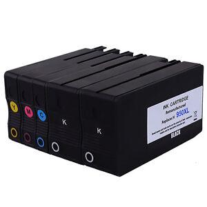5 Combo Pack Ink Inkjet For HP 950XL 951XL Officejet Pro ...