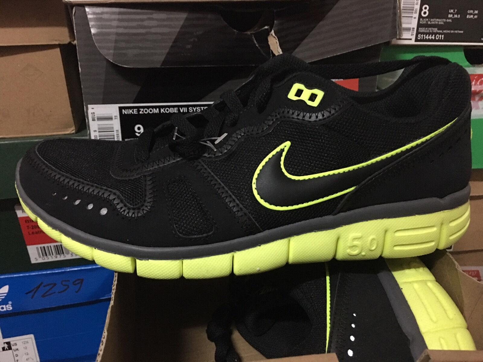 Nike Free Waffle AC Neu Snekaer Free Moire Presto Black_yellow Gr:41 US:8
