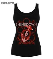 Official Ladies Skinny T Shirt SHINEDOWN Sail Away Vest Top All Sizes