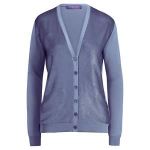 Ralph Lauren Purple Label Silk Sequined Boyfriend Cardigan Sweater New