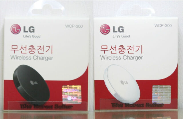LG Genuine WCP-300 Qi Wireless Charger Small Pad for LG G6 (US model only) G3 G4