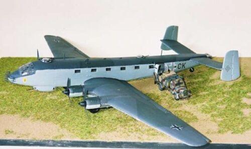 Airmodel Products 1//72 JUNKERS Ju-290 German WWII Transport Vacuform Kit