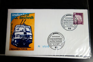 Germany-Stamps-1970s-Cachet-Covers-Lot-of-100-Beautiful-Unaddressed