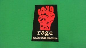 Rage-Against-The-Machine-Iron-On-Patch-New-Tom-Morello-Audioslave