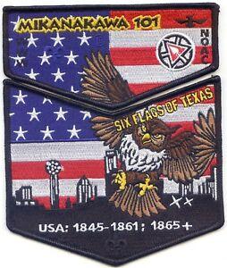 OA MIKANAKAWA LODGE 101 2020 NOAC TWO PIECE SET