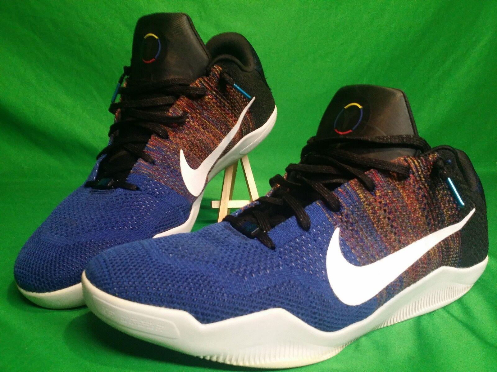 Nike Kobe XI Elite Low Black History Month 822522-914 Size 18 Basketball shoes