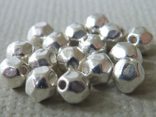 100 Spacer Perle entre Perle Bicone ovale à facettes Facett 4 Mm Choix De Couleur 2748