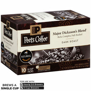 Peet's Coffee & Tea Free Shipping Policy. FREE shipping on any order of $60 or more. For orders less than $60, you pay one low flat shipping rate, regardless of size.
