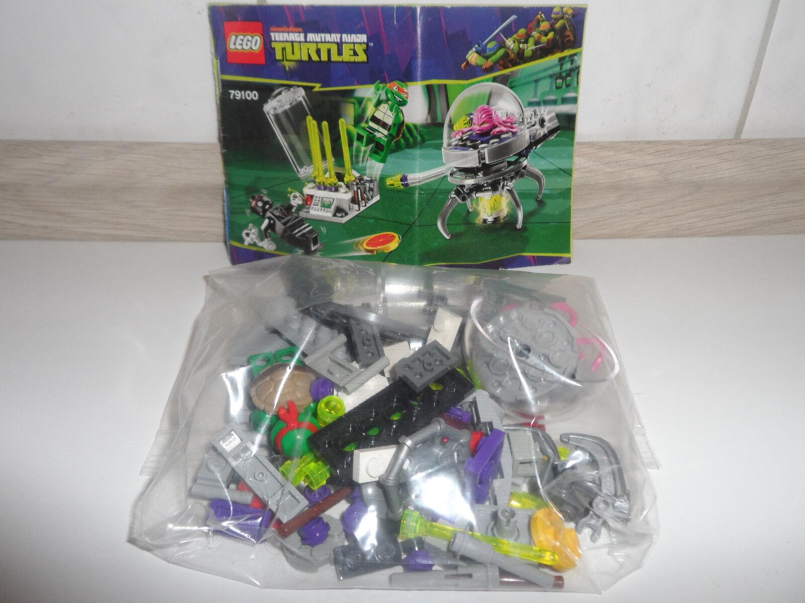 Lego - set set - 65 79100 ninja turtles d2710b