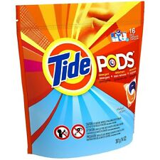 Tide Pods Laundry Detergent, Ocean Mist 16 ea (Pack of 8)