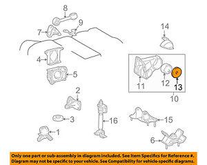 Lexus Toyota Oem 99 01 Es300 Engine Motor Transmission Heat Shield 1239220020 Ebay