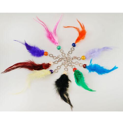 Neotrim plume trousseau clés matérielles paires pour la décoration costume party scrapbooking