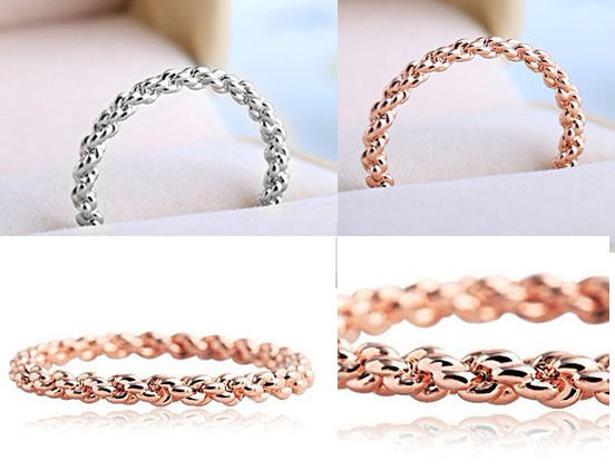 18K Gold Silver plated ring Knuckle Rings Top of Finger Midi Ring